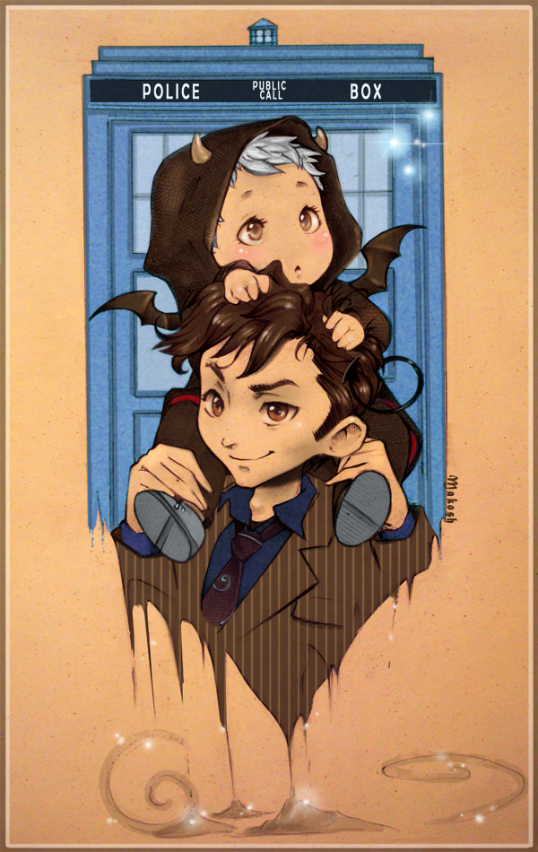 10th Doctor x The Master by akane3196 on DeviantArt