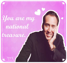FanArt:: Nicolas Cage Valentine's {2015}
