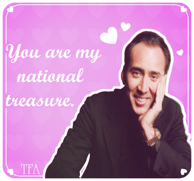 fanart nicolas cage valentine's {} by toofreakingawesome on, Birthday card