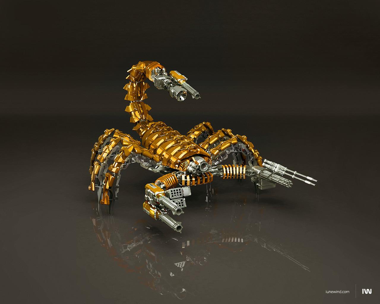 Mad scorpion Gold Edition