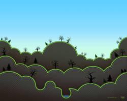 Undtrodden Woods - Spring by iuneWind
