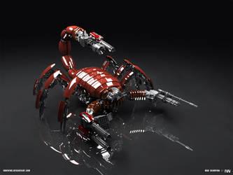 MAD Scorpion render by iuneWind