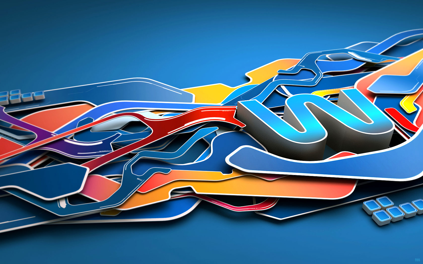 42 Amazing 3d Abstract Artwork