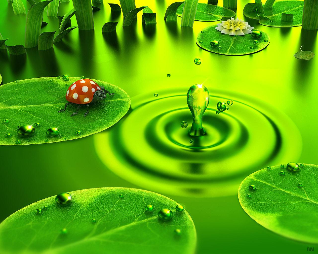 Green Dawn by iuneWind
