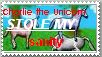 Charlie the Unicorn stamp by freedom-seeker
