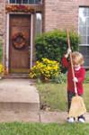 Little Girl Sweeps