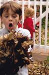 Human Leaf Blower