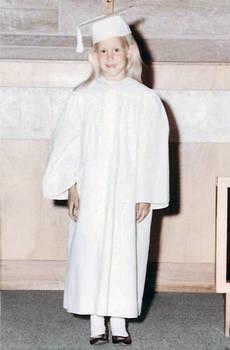 Church Kindergarten Graduation Day 1965