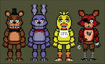 FNaF sprites (not over world)