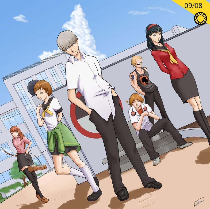 Persona 4 - September 8 2011 by Hitokirisan