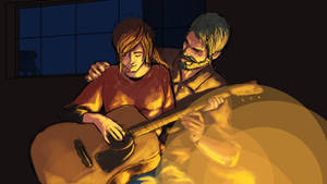 The Last of Us Sketch (a study of colors)