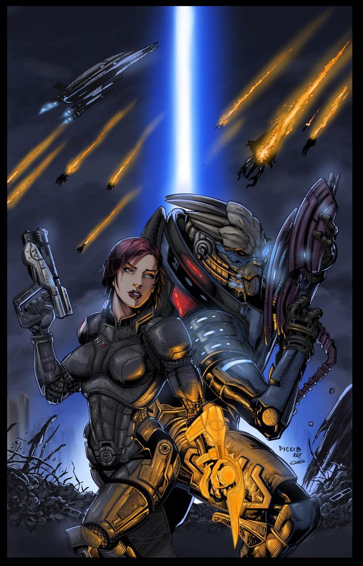 Mass Effect by Hitokirisan