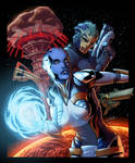 Mass Effect Redemption Cover Colors