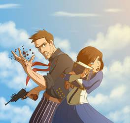 Bioshock Infinite by Hitokirisan