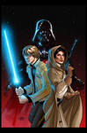 Star Wars Vader Down #1 Cover (Unofficial colors)