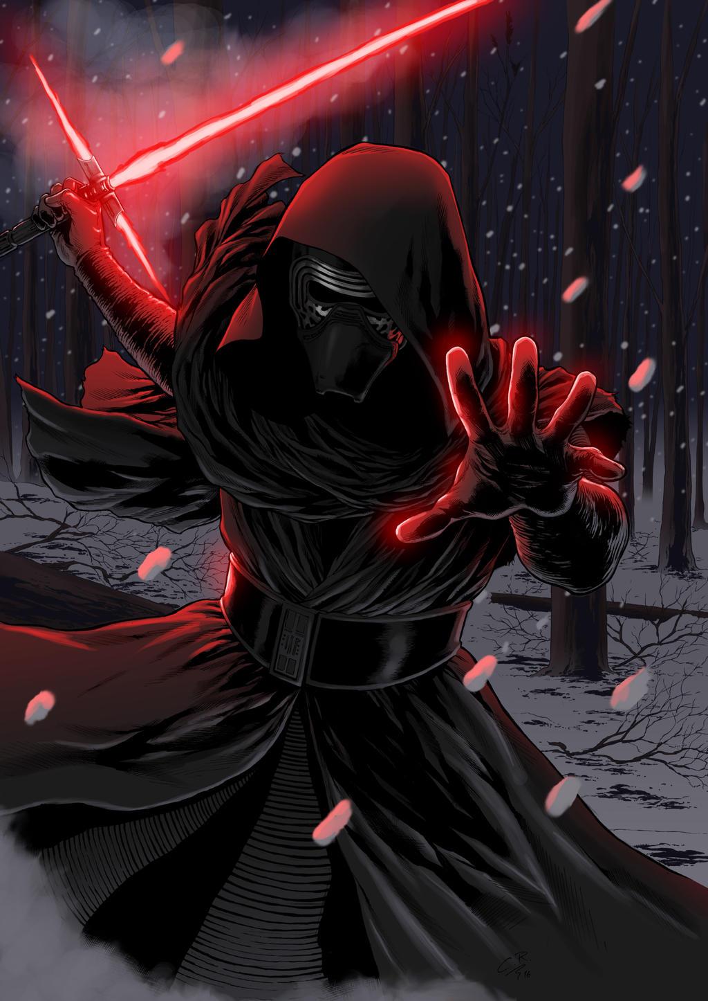star wars  the force awakens  kylo renhitokirisan on