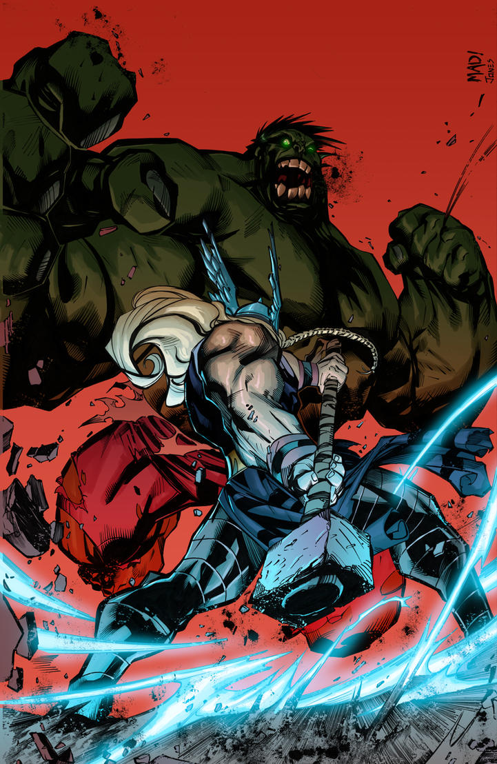 Hulk Smashem by Hitokirisan