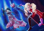 Ann Takamaki and Carmen - Persona 5 Royal by Hitokirisan