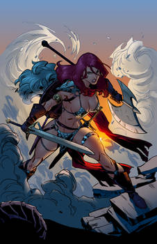 Red Sonja Cover - Colors 01/21