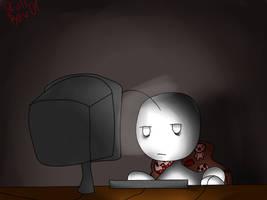 Very sleepy Cry plays by Skullbow09