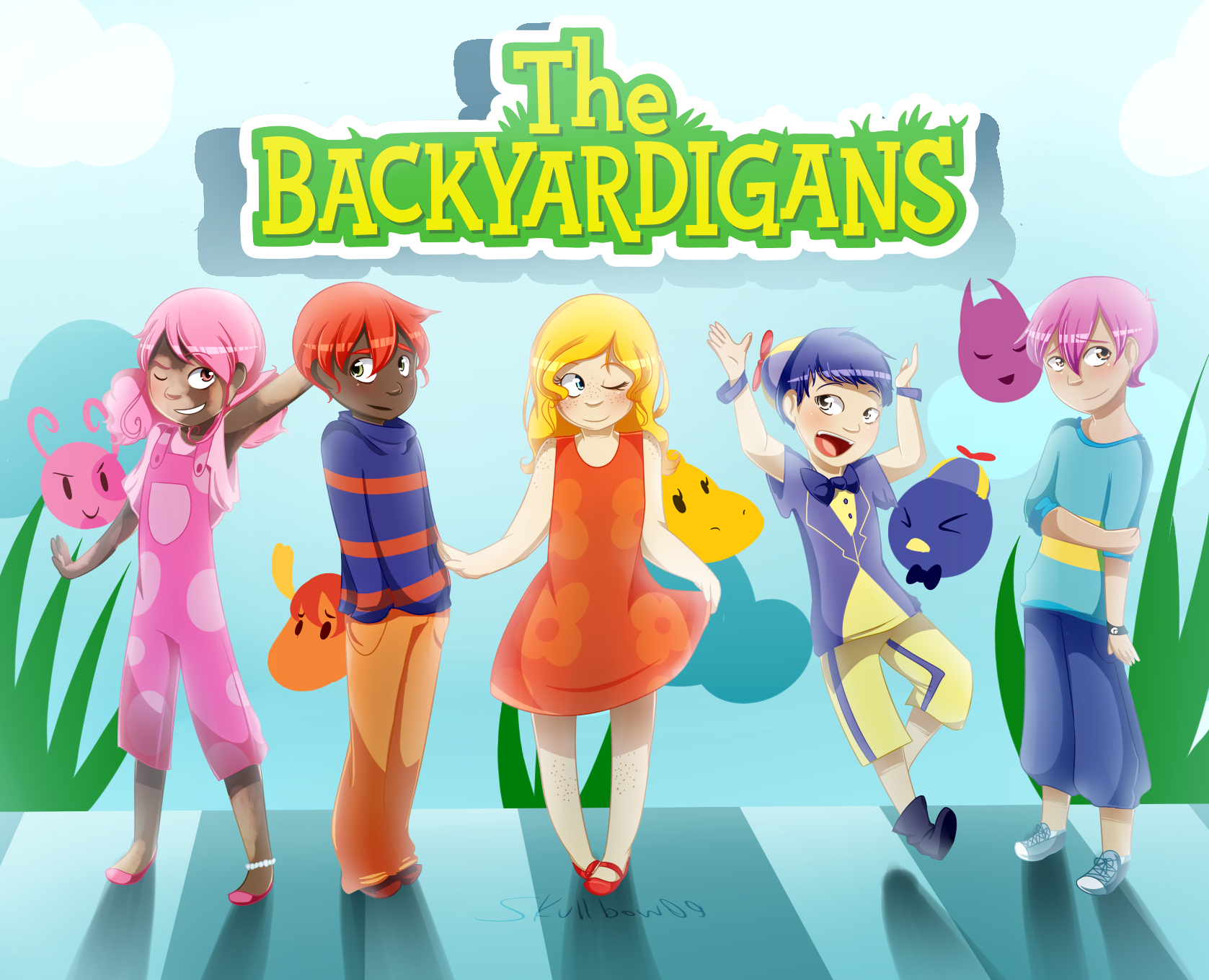 The Backyardigans :iconskullbow09: