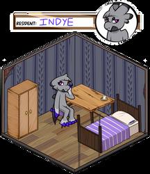 [WYN] Indye's Cranny Room by WabbitEars