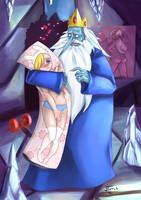 Ice King And Fiona by Nerdbayne