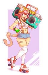 Rad Cat by Nerdbayne