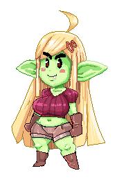 Pixel goblin