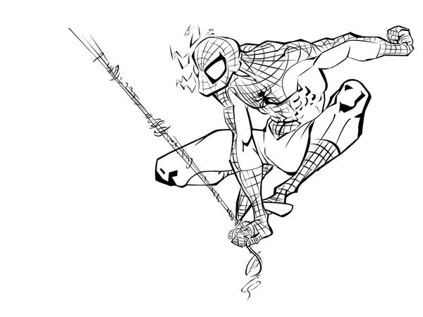 Spider-man BW White Wallpaper by Aratindome ...
