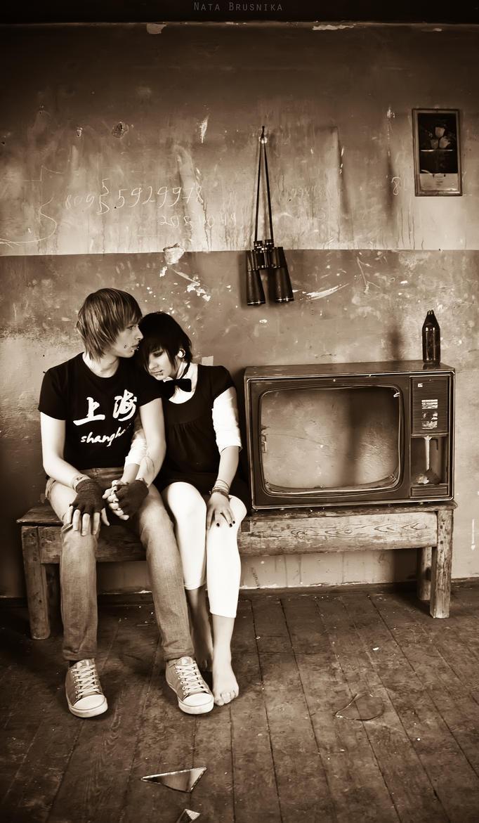 retro modern love by brusnika-girl .
