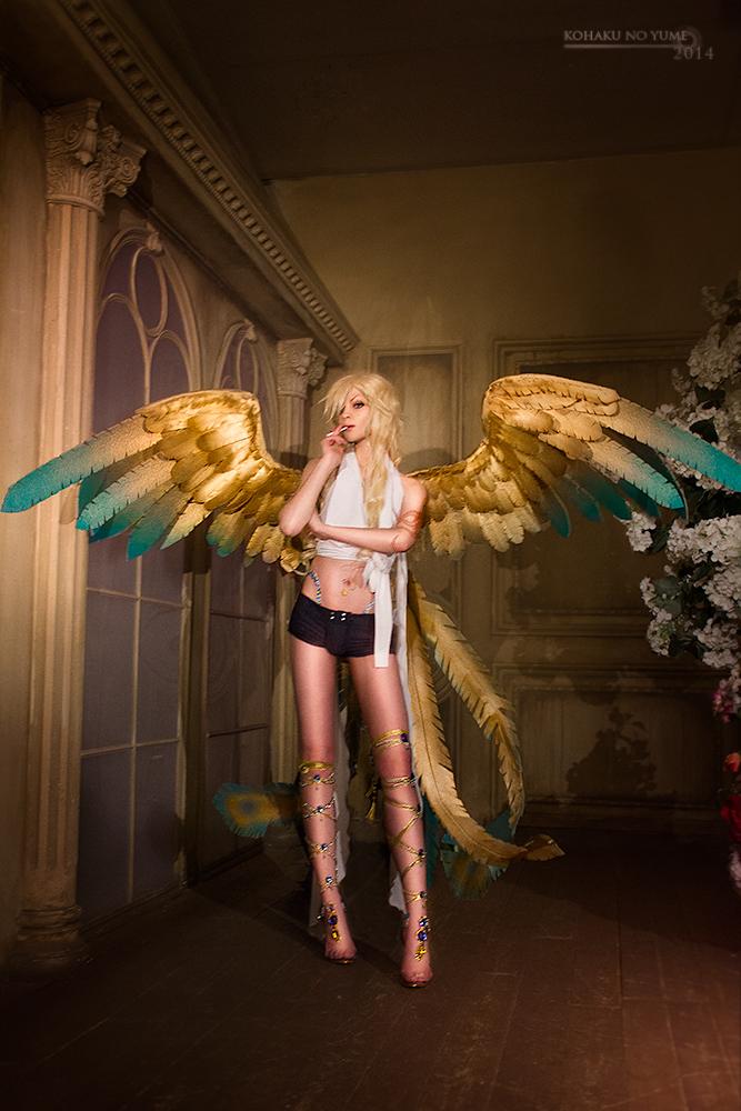 Golden wings by kohakunoyume