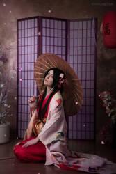 Flower of the Tea House by kohakunoyume