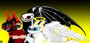 Quarantine ? by DragonInfernoArt