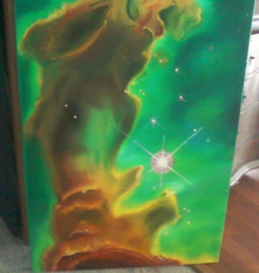 eagle nebula by PaintingCleverly