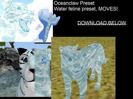 Oceanclaw, Moving water preset