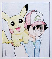 Pikachu + Ash