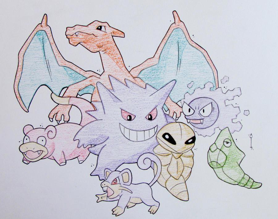Pokemon by Hurek