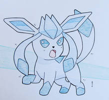 Glaceon by Hurek
