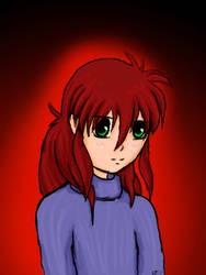 Kurama the cutie by rmr34