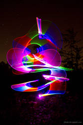 Abstract Light Painting 01 by jibedo