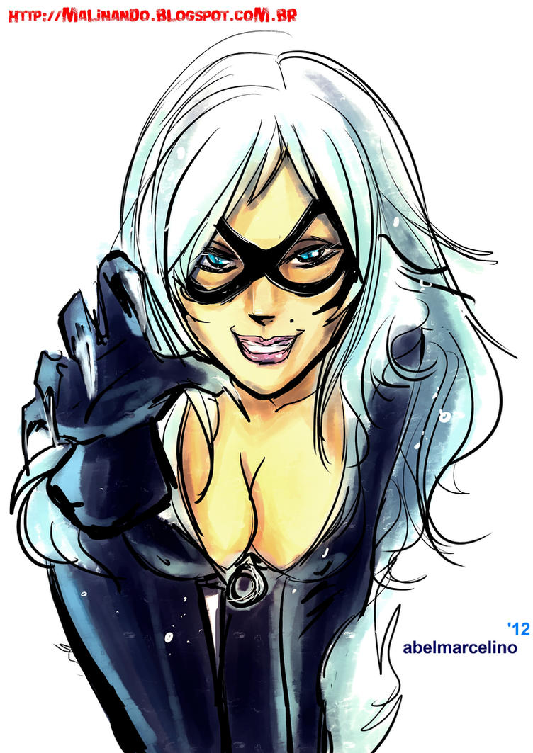Black Cat by Belmarcelino