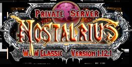 Nostalrius Logo by Alstorius