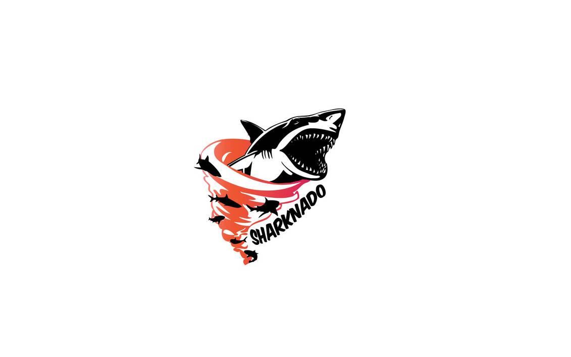 Sharknado Logo Blanc by Alstorius