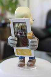 Screendoor shield zombie front