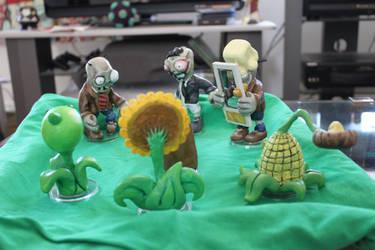 Plants vs zombies battle A