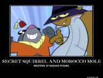 Secret Squirrel and Morocco Mole Motivational