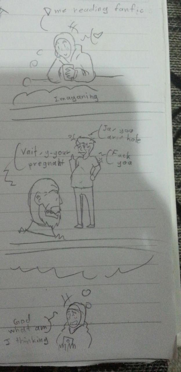 My imagination #1 by syaqirachantek