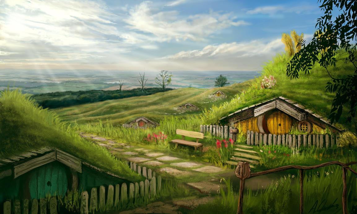 Hobbiton Shire by AnthonyChristou