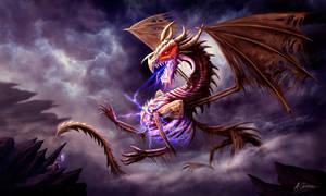 Zerolios - Bone Lighting Dragon